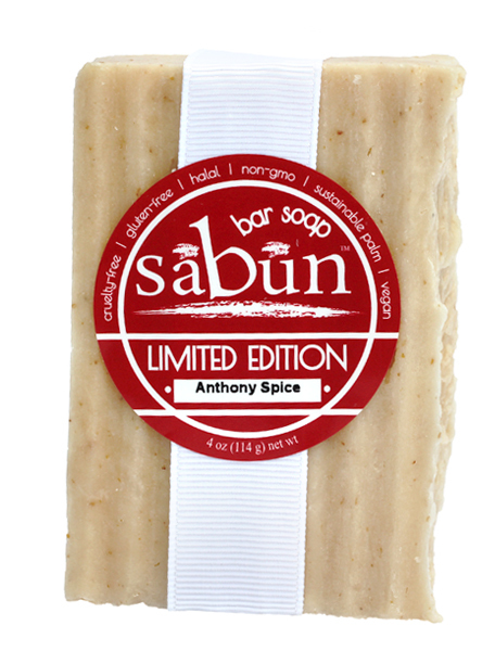 Limited Edition-Anthony Spice Bar Soap
