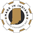 Made in Indiana logo