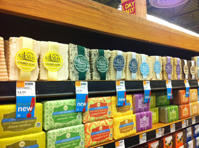 Soapy Soap Company Soaps at Whole Foods Market